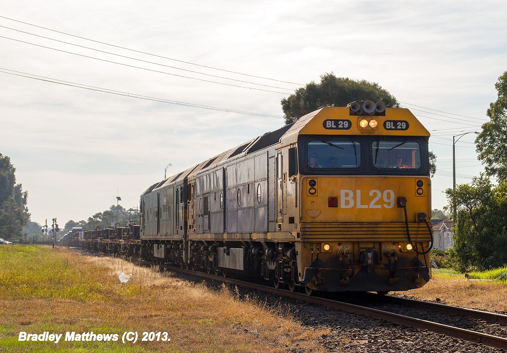 BL29-G541 on #9553 down Long Island at Somerville (6/5/2013) by Bradley Matthews