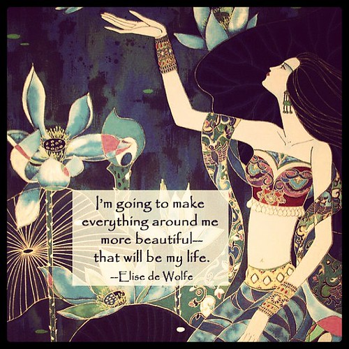 ♥ I'm going to make everything around me more beautiful—that will be my life. ♥   by cad7ad86737b10c6c79773c16b6dade7