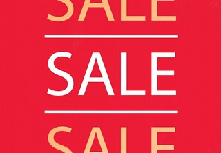 sale sign | by Brisbane Threads
