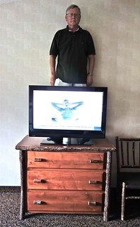Standing Behind the TV in Room 337