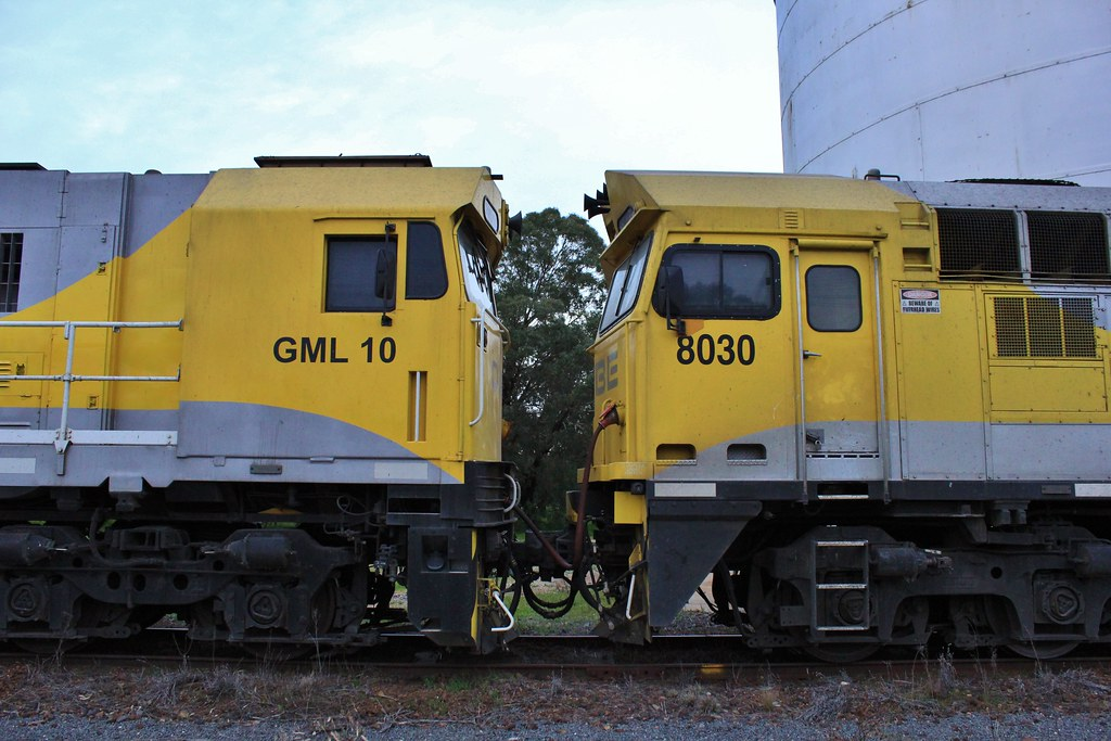 GML10 and 8030 together at Glenorchy by bukk05