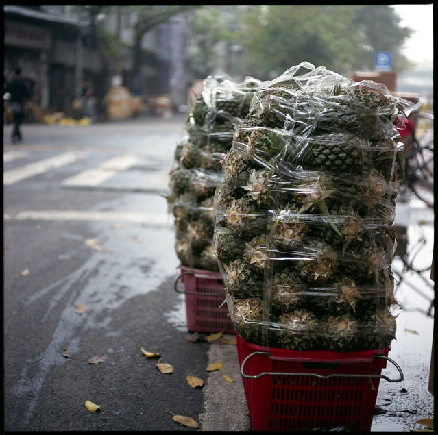 pineapple piling