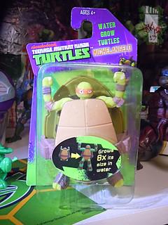 WICKED COOL TOYS :: Nickelodeon TEENAGE MUTANT NINJA TURTLES; 'WATER GROW TURTLES' - MICHELANGELO i (( 2013 )) | by tOkKa