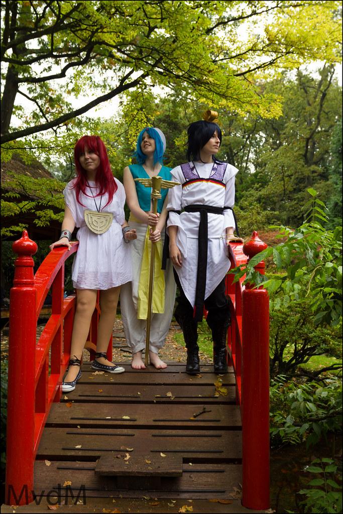Magi - Morgiana, Aladdin & Hakuryuu Ren | Series: Magi - The