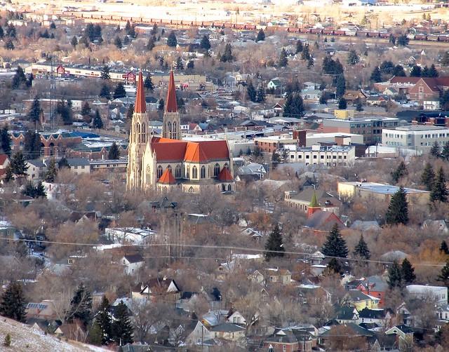St. Helena Cathedral.   Helena,Montana
