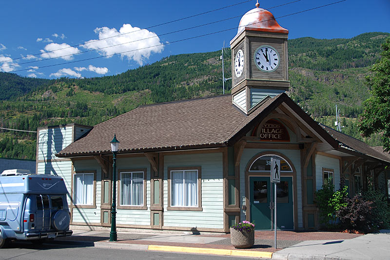 Village Office, Lytton, Gold Country, Thompson Nicola, British Columbia, Canada