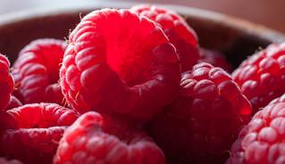glowing raspberries | by Samantha Forsberg