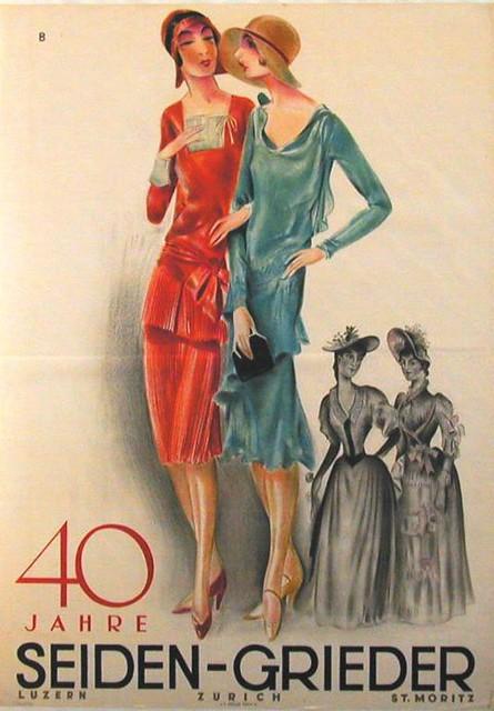 40 years silk Grieder (1929)