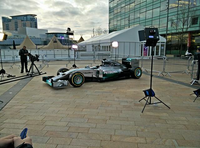Lewis Hamilton's F1 Car