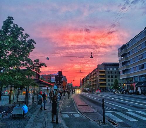 sunset festival rock metal copenhagen 666 københavn solnedgang christianshavn torvegade copenhell