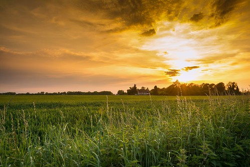 sunset sky green clouds farmhouse landscape golden countryside suffolk country fields 1870mm goldenhour 1870 mildenhall rafmildenhall nikonafs1870mmf3545gifeddx ashleytownsend nikond7100