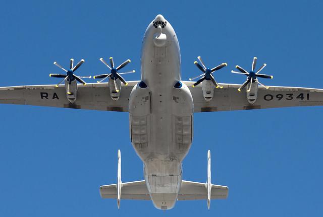 RA-09341 Russia - Air Force  Antonov An-22A Antei