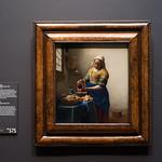 Rijksmuseum Amsterdam フェルメール 牛乳を注ぐ女