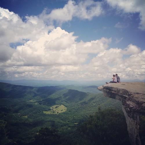 panorama mountain virginia view peak hike hills trail valley ledge vista appalachian knob precipice mcafee mcafees mcafeeknob mcaffeesknob
