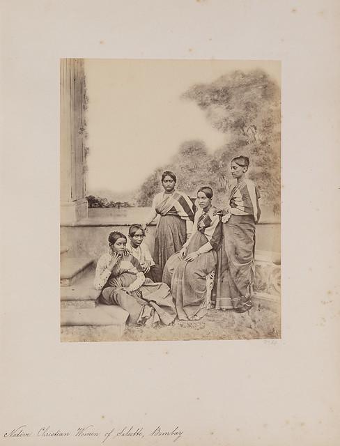 Native Christian Women of Salsette, Bombay