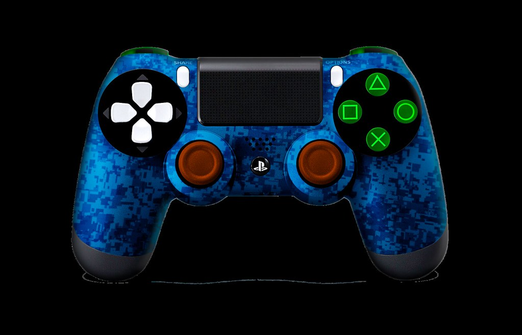 PS4Controller-BlueUrban | Evil Controllers Custom PS4 Contro… | Flickr