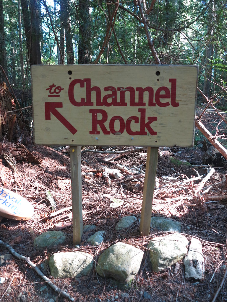 "Cortes Island - ""The Channel Rock"""
