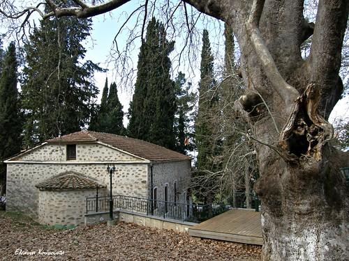tree church landscape greece εκκλησία ελλάδα τοπίο kozani δέντρο κοζάνη velvendos δυτικήμακεδονία βελβεντόσ