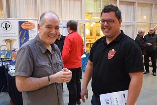Brassbandfestivalen 2013 - Philip McCann och Patrik Randefalk (Foto: Olof Forsberg)