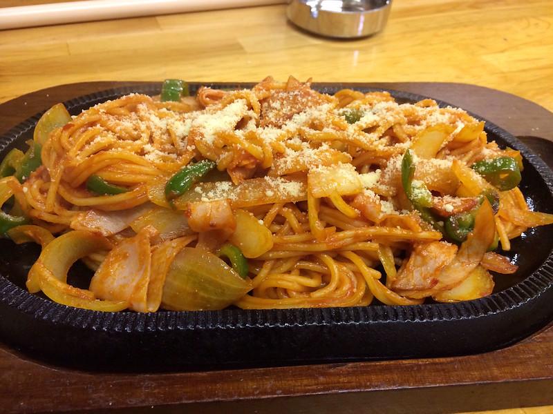 ナポリタン spaghetti Napolitana