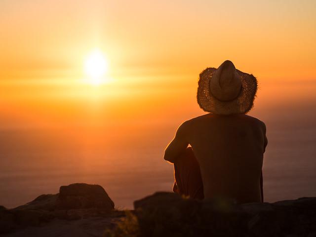 Sunset, Lion´s Head - Cape Town