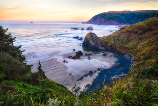 The Oregon Coast from Ecola State Park by Michael Matti | by Michael Matti