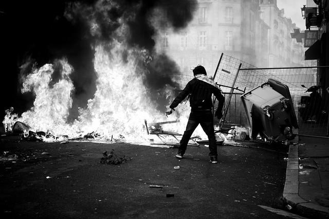 Demonstration against the Notre Dame des Landes airport - 22Feb14, Nantes (France) - 48