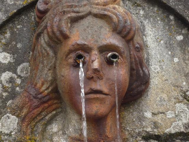 Santuario del Bom Jesus do Monte (Braga).Fuente de los Sentidos. La vista,claro.