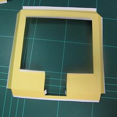 วิธีทำโมเดลกระดาษเป็นรูปบ้าน (Little House Papercraft Model) 002