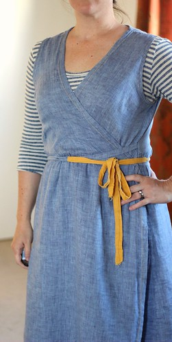 may 15 #mmmay14 wrap dress close | by wandering spirit designs
