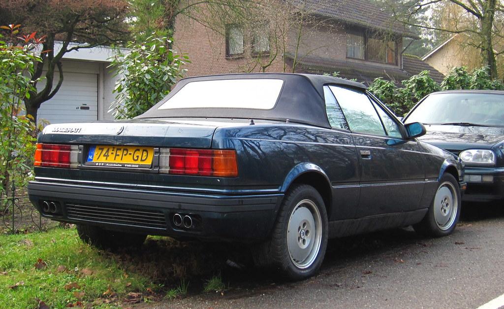 1991 Maserati Spyder i 1990 2.8 V6 (Biturbo) | Place: Sint-M… | Flickr