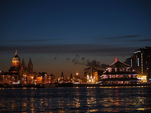 Amsterdam skyline from Oosterdok | by joiseyshowaa
