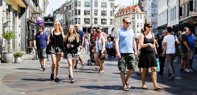 Strolling in Copenhagen