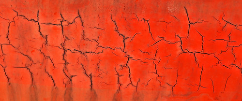 old red arizona mars abstract texture metal museum contrast plane airplane landscape outdoors design colorful pattern bright tucson outdoor space aircraft air crack pima minimalism crevice
