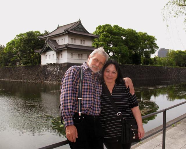 Tokyo, Ispred zida oko Istočnog carskog parka