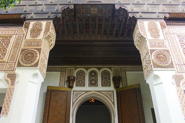 Bahia Palace: Magnificent woodwork