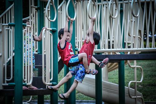 Photo of children on playground