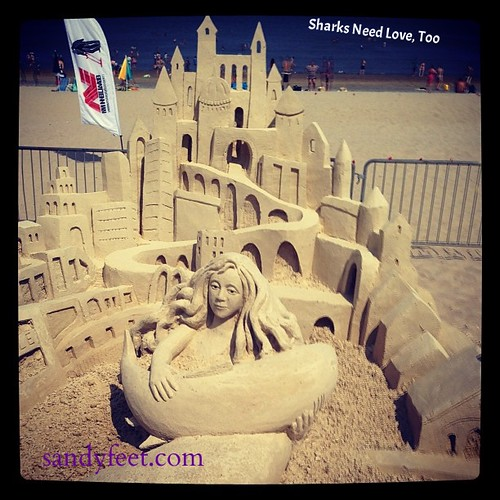 """Encroachment"" by sandy feet at Revere Beach, Boston   by sandyfeet"