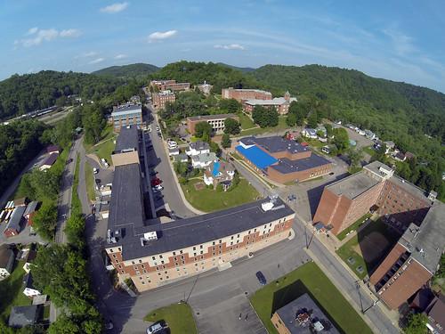 Campus photo Aerial