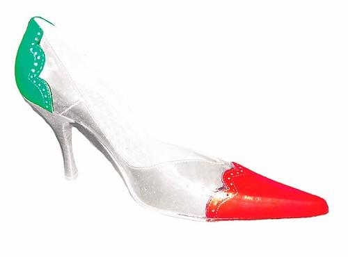 6. Italian Vintage patriotic patent stiletto