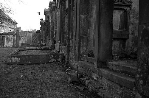 "Image titled ""Flight, St Cuthburt's Church, Edinburgh."""