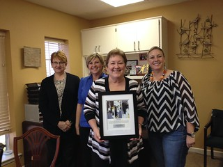 Virginia Brooks, Big Brothers Big Sisters of America Sister of the Year for Grayson County | by Brooks & Associates Public Relations