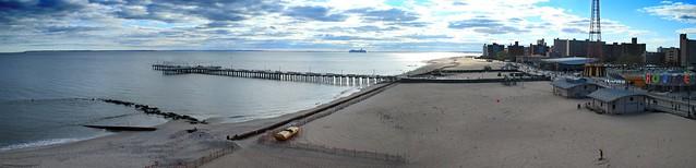 Coney Island Canon Short Panorama East