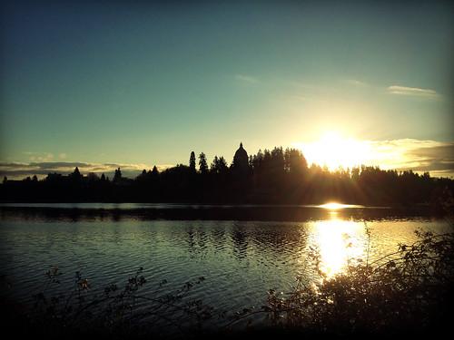morning usa lake building water america sunrise washington unitedstates capitol olympia wa iphone 美国 华盛顿 appleiphone iphone4 appleiphone4