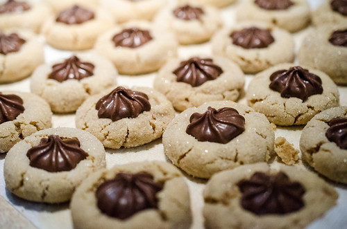Peanut Butter Kisses cookies | by m01229
