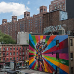 Mural by the highline