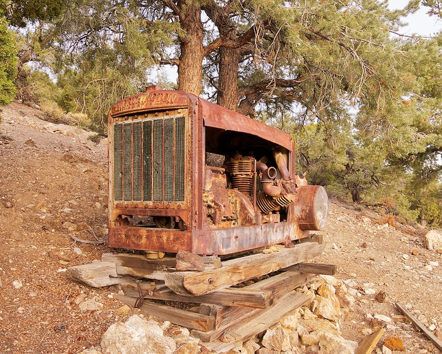 Inyo National Forest, White Mountains, Grandview Mine, Worthington Engine