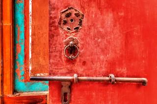 forbidden city concubines quarters door lock   by q.phia