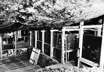 Interior de la mina de Altaussee