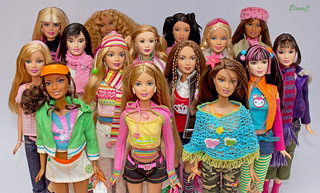 Barbie loves United Colors of Benetton | by EleC [mickred]